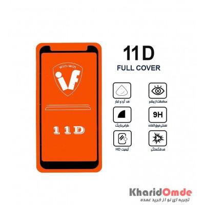 محافظ گلس صفحه نمایش 11D مناسب برای گوشی J8 بدون پک