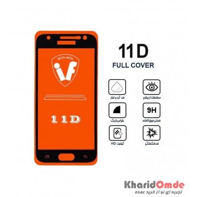 محافظ گلس صفحه نمایش 11D مناسب برای گوشی J3 Pro بدون پک
