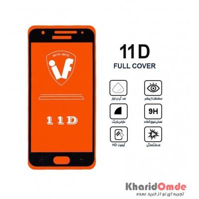 محافظ گلس صفحه نمایش 11D مناسب برای گوشی J5 Prime بدون پک