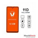محافظ گلس صفحه نمایش 11D مناسب برای گوشی A40 بدون پک