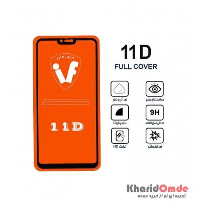 محافظ گلس صفحه نمایش 11D مناسب برای گوشی Note 6 بدون پک