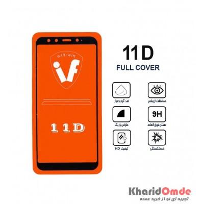 محافظ گلس صفحه نمایش 11D مناسب برای گوشی MI 6X بدون پک