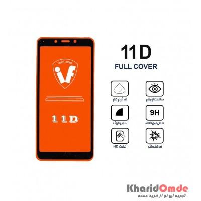 محافظ گلس صفحه نمایش 11D مناسب برای گوشی MI 6A بدون پک