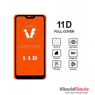 محافظ گلس صفحه نمایش 11D مناسب برای گوشی MI A2 Lite بدون پک