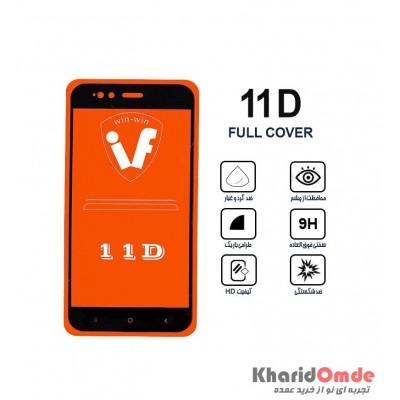 محافظ گلس صفحه نمایش 11D مناسب برای گوشی MI 5X بدون پک