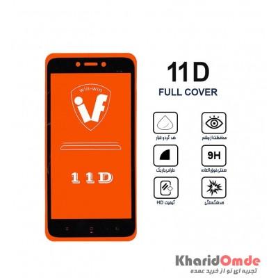 محافظ گلس صفحه نمایش 11D مناسب برای گوشی MI 4X بدون پک