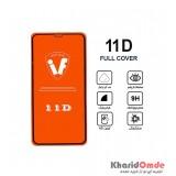 محافظ گلس صفحه نمایش 11D مناسب برای گوشی XS MAX بدون پک