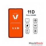 محافظ گلس صفحه نمایش 11D مناسب برای گوشی XR بدون پک