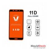 محافظ گلس صفحه نمایش 11D مناسب برای گوشی Y5prime 2018 بدون پک