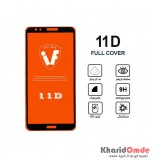 محافظ گلس صفحه نمایش 11D مناسب برای گوشی Nova 2 Lite بدون پک