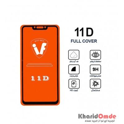 محافظ گلس صفحه نمایش 11D مناسب برای گوشی Nova 3I بدون پک