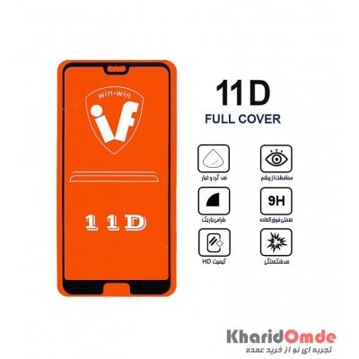 محافظ گلس صفحه نمایش 11D مناسب برای گوشی P20 بدون پک
