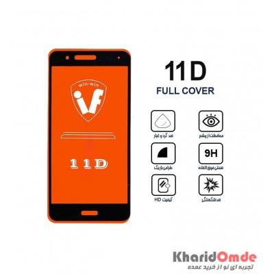 محافظ گلس صفحه نمایش 11D مناسب برای گوشی P10 بدون پک