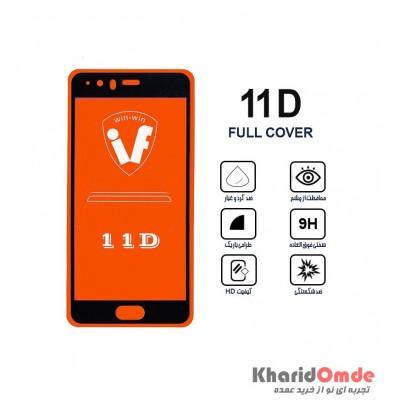محافظ گلس صفحه نمایش 11D مناسب برای گوشی P10 Lite بدون پک