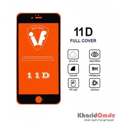 محافظ گلس صفحه نمایش 11D مناسب برای گوشی iphone XS بدون پک