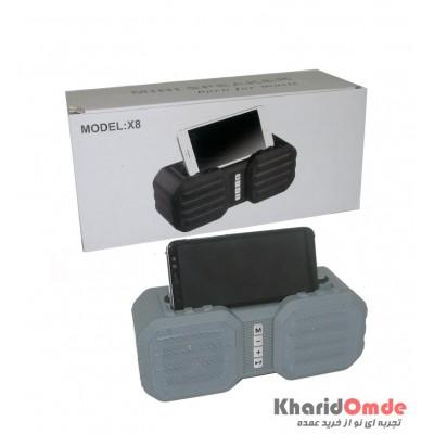 اسپیکر بلوتوث رم و فلش خور Mini Speaker مدل X8