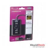 هاب 4 پورت Venous USB مدل PV-H191