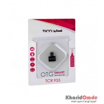 تبدیل MicroUsb به USB TSCO (OTG) مدل TCR 955