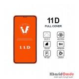 محافظ گلس صفحه نمایش 11D مناسب برای گوشی iphone X بدون پک