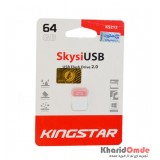 فلش KingStar مدل 64GB Skysi USB 2.0 KS212