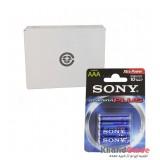 باتری نیم قلمی Sony 1.5V مدل Stamina Plus