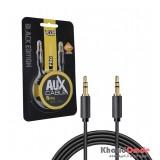 کابل 1 به 1 صدا (AUX) 1.5 متری Knet Plus مدل Spring
