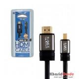 کابل تبدیل HDMI 2.0 4K به Miccro HDMI طول 1.8 متر KNET Plus