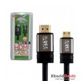 کابل تبدیل HDMI 2.0 4K به Mini HDMI طول 1.8 متر KNET Plus