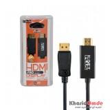 کابل تبدیل HDMI به Display Port طول 1.8 متر KNET Plus مدل KP-C2105
