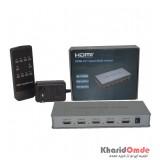 سوئیچ 4*1 پورت KNET HDMI مدل Quad Multi-Viewer