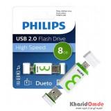 فلش PHILIPS مدل Dueto 8GB