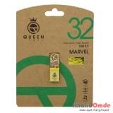 فلش Queen Tech مدل Marvel 32GB