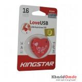 فلش KingStar مدل 16GB LoveUSB KS245