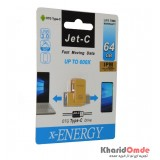 فلش USB 3.0 Type-c OTG مدل Jet-c 64GB