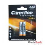 باتری نیم قلمی شارژی Camelion مدل 1000mAh (کارتی 2 تایی)