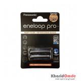 باتری نیم قلمی شارژی Panasonic مدل eneloop 950mAh (کارتی 2 تایی)
