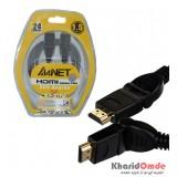 کابل HDMI طول 1.5 متر A4NET مدل 360 درجه