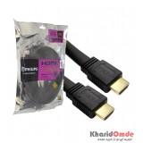 کابل HDMI 4K 3D طول 10 متر فلت PHILIPS