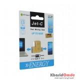 فلش Type-c X-Energy OTG به USB 3.0 مدل 128GB Jet-c