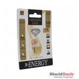 فلش X-Energy مدل 128GB Gem