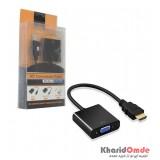 تبدیل HDMI به VGA + کابل صدا AUX