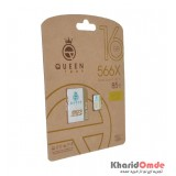 رم موبایل QueenTech 16GB MicroCD Elite Pro 566X 85MB/S خشاب دار