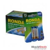 بسته 10 تایی باتری قلمی Ronda 1.5V مدل Ultra Heavy Duty R6P