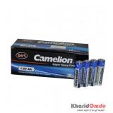 بسته 10 تایی باتری قلمی Camelion شرینگ 4 تایی