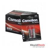 بسته 12 تایی باتری قلمی Camelion مدل Plus Alkaline (کارتی 2 تایی)