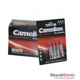 بسته 12 تایی باتری نیم قلمی Camelion مدل Plus Alkaline (کارتی 4 تایی)