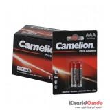 بسته 12 تایی باتری نیم قلمی Camelion مدل Plus Alkaline (کارتی 2 تایی)