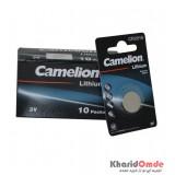 بسته 10 تایی باتری سکه ای Camelion مدل CR 2016