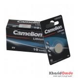 بسته 10 تایی باتری سکه ای Camelion مدل CR2025