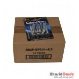 بسته 12 تایی پک 4 باتری قلمی + 4 باتری نیم قلمی Super Duty Heavy